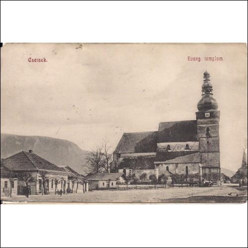 Csetnek Evang. templom ( post. ) ( T3)