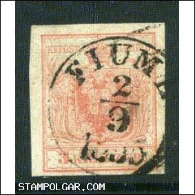 FIUME , E3.8 , Gudlin 200 pont 1850-1871